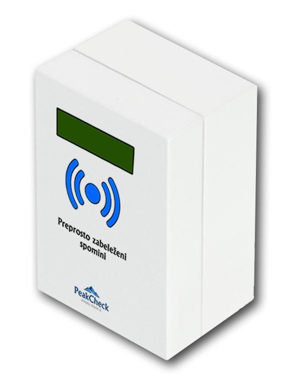 PeakCheck naprava za beleženje vzponov